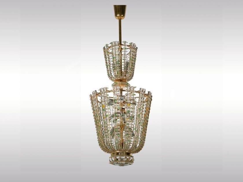 Classic style crystal pendant lamp OPERNLUSTER ORIGINAL - Woka Lamps Vienna