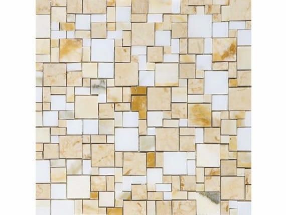 Marble mosaic OPUS GIALLO - FRIUL MOSAIC