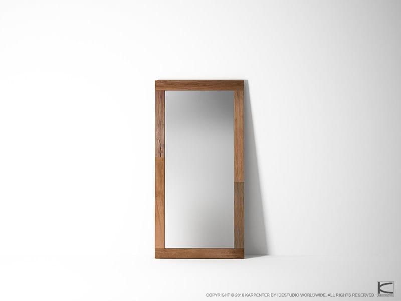Countertop rectangular framed mirror ORGANIK OR36-TMH | Mirror - KARPENTER