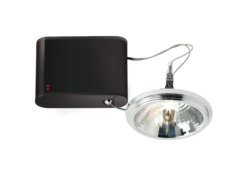 Adjustable aluminium spotlight ORBIS | Adjustable spotlight - Fabbian