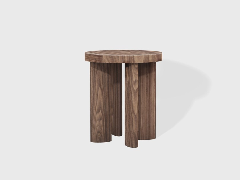 Wooden stool ORBIT 04 - Matter Made