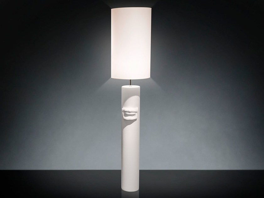 """Ceramic floor lamp """"DAVID BY MICHELANGELO"""" MOUTH - VGnewtrend"""