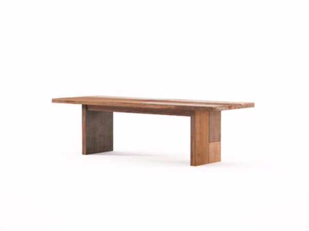 Rectangular wooden coffee table ORGANIK OR06-TMH | Coffee table - KARPENTER