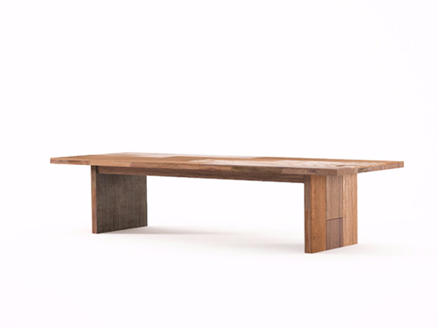 Rectangular wooden coffee table ORGANIK OR07-TMH | Coffee table - KARPENTER