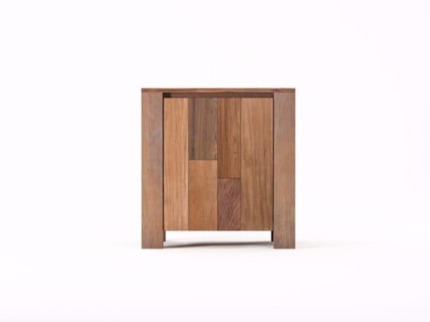 Wooden sideboard with doors ORGANIK OR18-TMH | Sideboard - KARPENTER