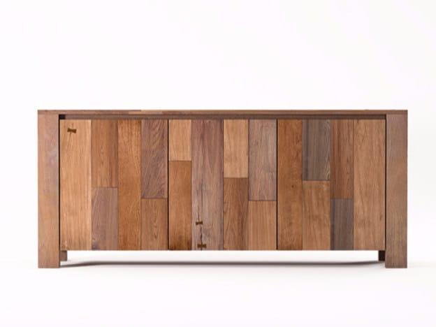 Wooden sideboard with doors ORGANIK OR20-TMH | Sideboard by KARPENTER