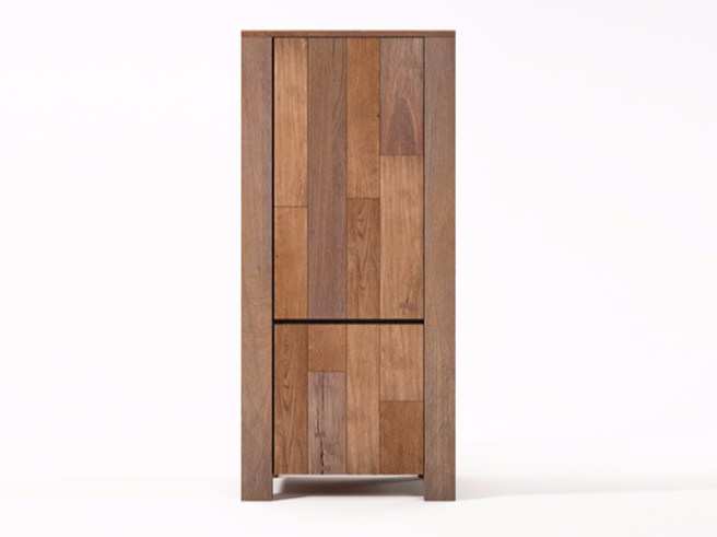 Wooden highboard with doors ORGANIK OR21-TMH | Highboard - KARPENTER