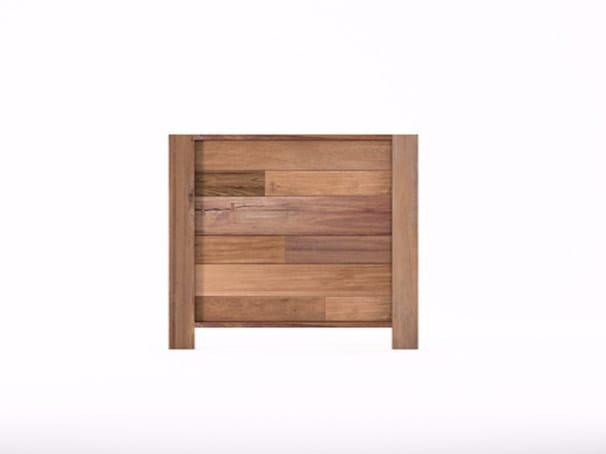 Wooden headboard for single bed ORGANIK OR27-TMH | Headboard - KARPENTER