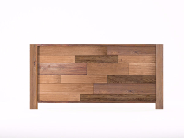 Wooden headboard for double bed ORGANIK OR28-TMH   Headboard - KARPENTER