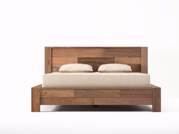 Wooden queen size bed ORGANIK | Queen size bed - KARPENTER