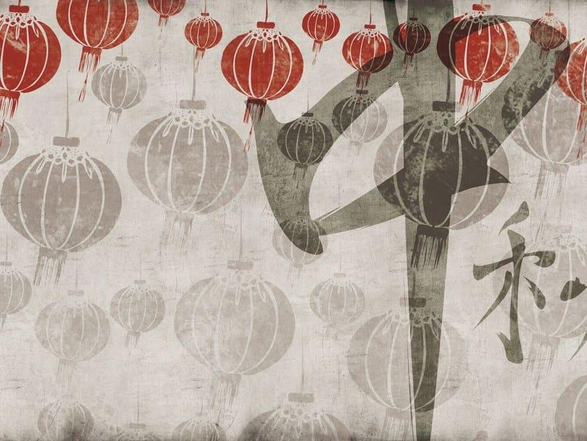 Fiberglass textile wallpaper ORI-01 by MOMENTI