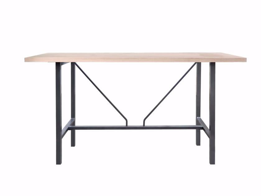 Rectangular solid wood table ORIGIN - KFF