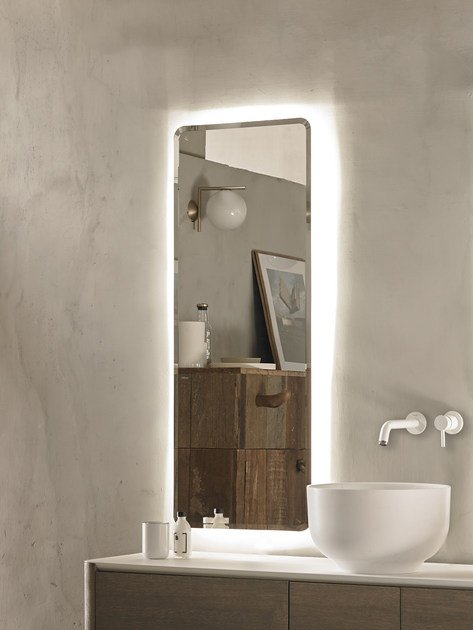 Rectangle bathroom mirror