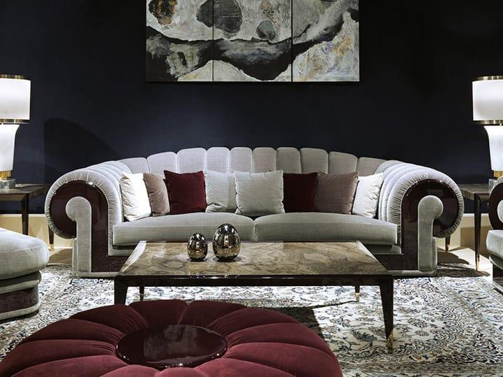 Orion divano collezione orion by turri design giovanni - Prodotti per pulire il divano in tessuto ...
