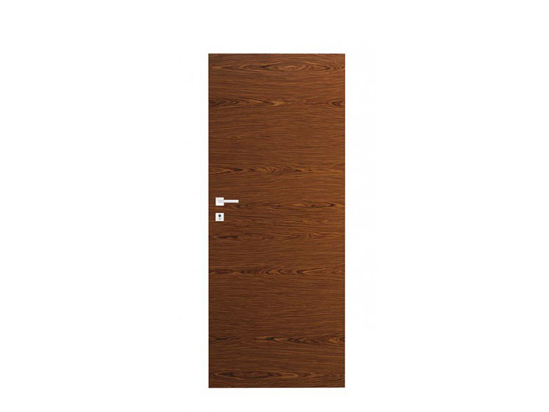Door panel for indoor use ORIZZONTI SMOOTH ROSEWOOD - Metalnova
