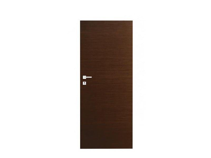 Door panel for indoor use ORIZZONTI SMOOTH COCOA OAK - Metalnova