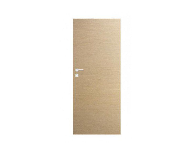 Door panel for indoor use ORIZZONTI SMOOTH WHITE OAK by Metalnova