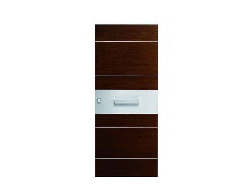 Door panel for indoor use ORIZZONTI ZENITH COCOA OAK - Metalnova