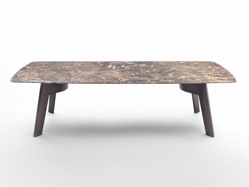 Tavolo rettangolare in marmo ORLANDO - FLEXFORM