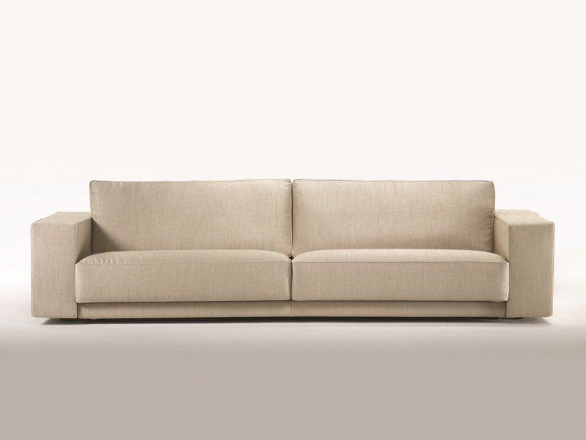 2 seater fabric sofa with removable cover ORSON - FLEXFORM