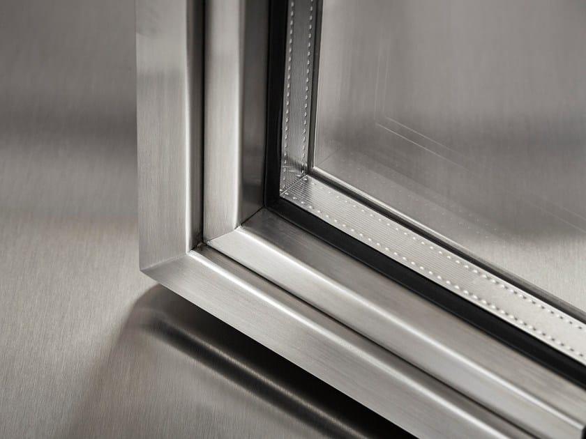 Finestra a taglio termico in acciaio os2 75 finestra in - Finestra a tre aperture ...