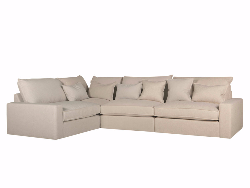 Corner sectional 3 seater fabric sofa OSCAR | 3 seater sofa by SITS