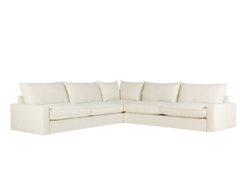 6 seater corner sectional fabric sofa OSCAR | 6 seater sofa by SITS