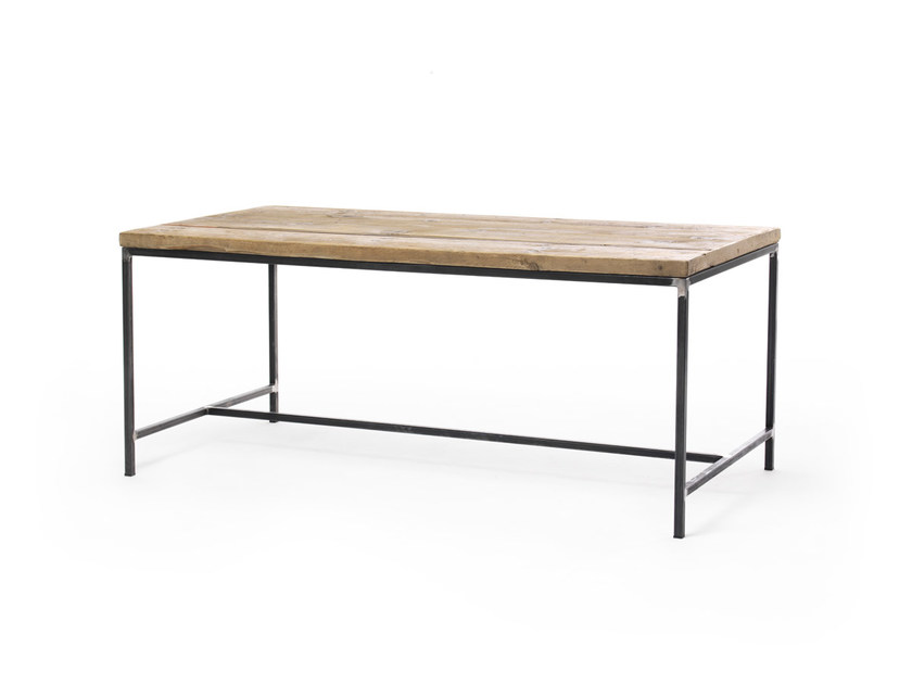 Rectangular spruce table OSCAR | Rectangular table - Vontree