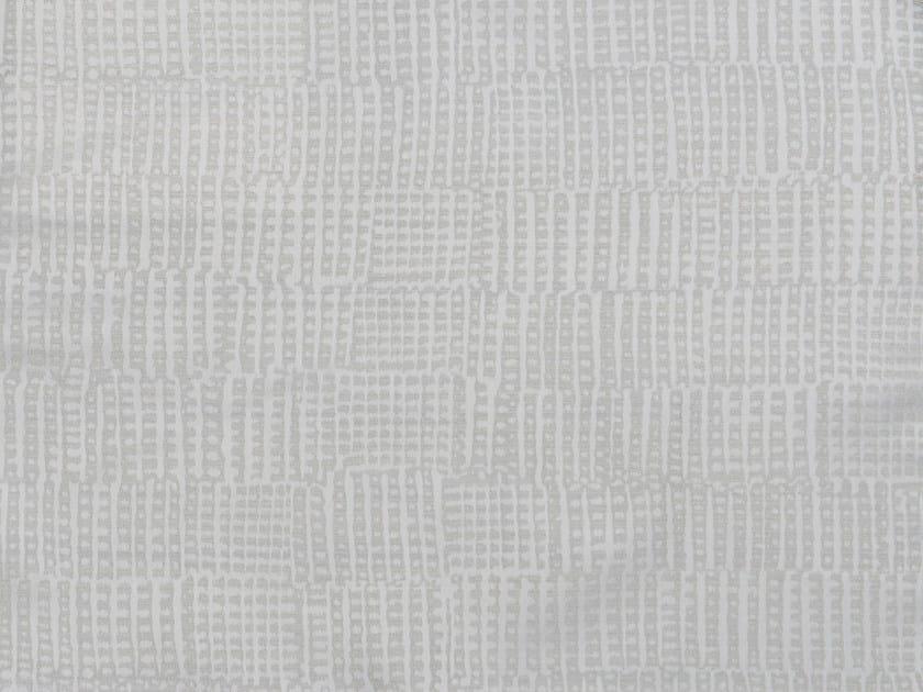 Jacquard cotton and silk fabric OSIAN - KOHRO