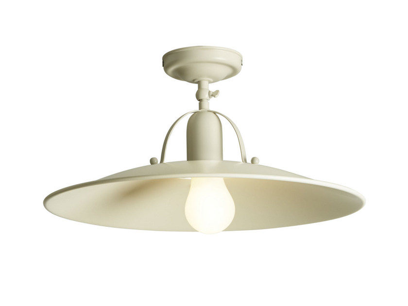 Direct light painted metal ceiling lamp OSTERIA | Ceiling lamp - Gibas