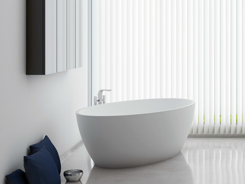 Oval bathtub OU - INBANI