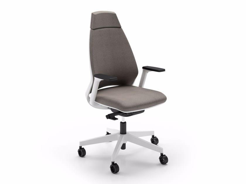 Task chair with 5-Spoke base OXYGEN | Task chair - Quadrifoglio Sistemi d'Arredo