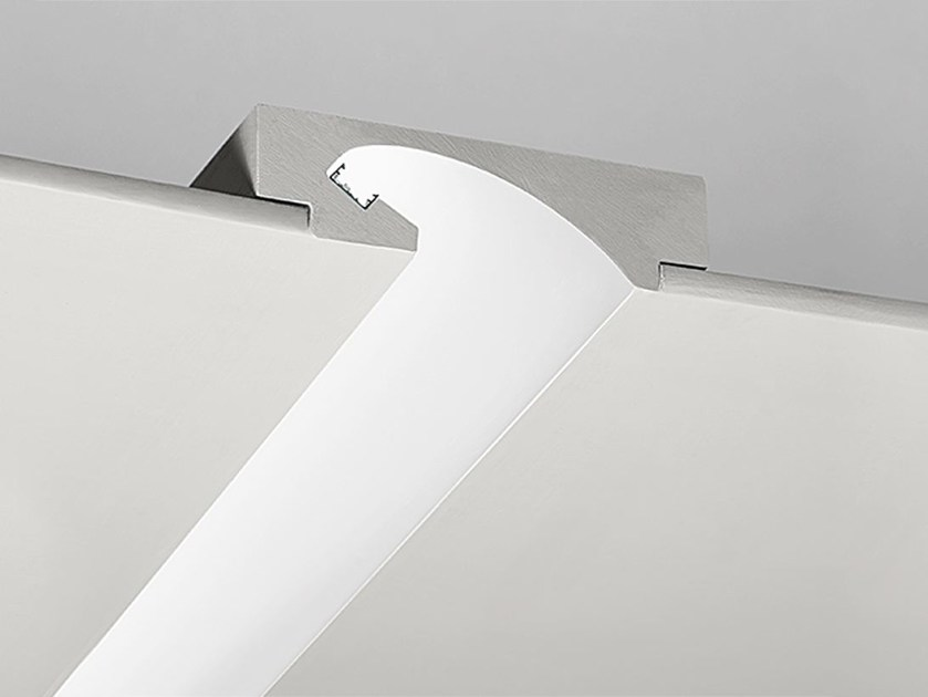 Built-in gypsum Linear lighting profile P2 - NOBILE ITALIA