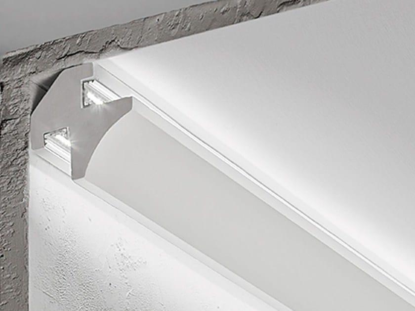 Angular gypsum lighting profile P6 - NOBILE ITALIA