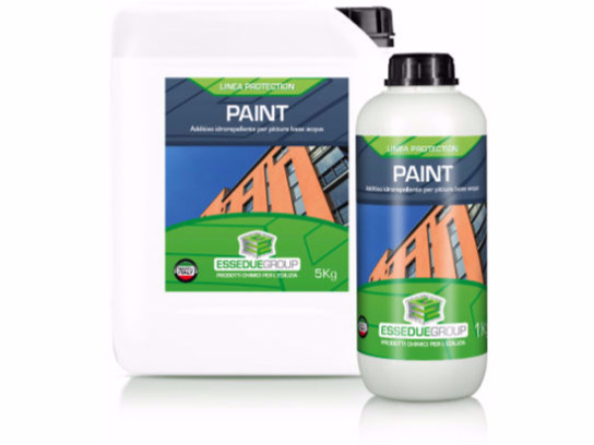 Additivo idrorepellente per pitture PAINT - Essedue Group