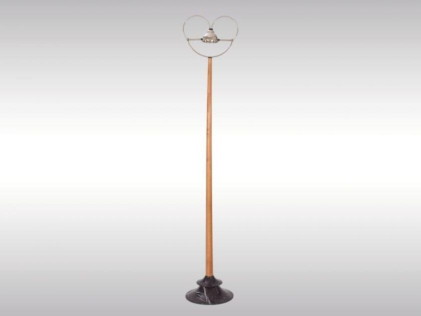 Classic style floor lamp PALAIS1 BL - Woka Lamps Vienna