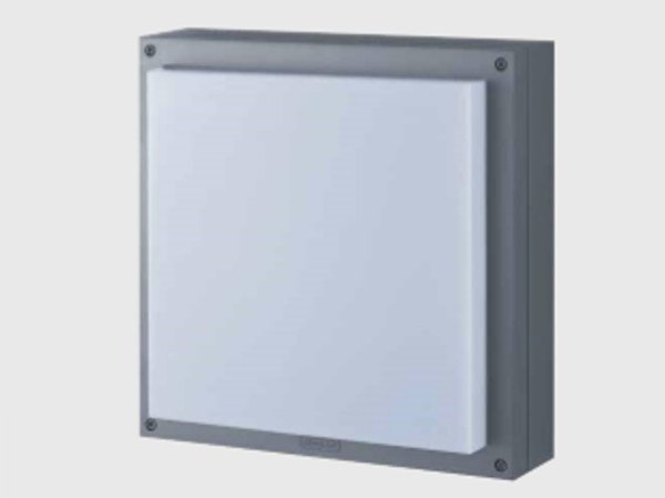 LED aluminium and PVC wall lamp PALETTA by ES-SYSTEM