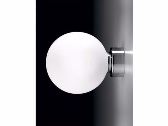 LED glass wall lamp PALLINA | Wall lamp - Ailati Lights