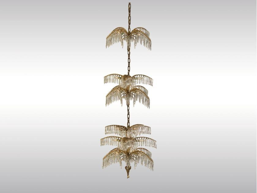 Classic style chandelier PALME SHANGHAI - Woka Lamps Vienna