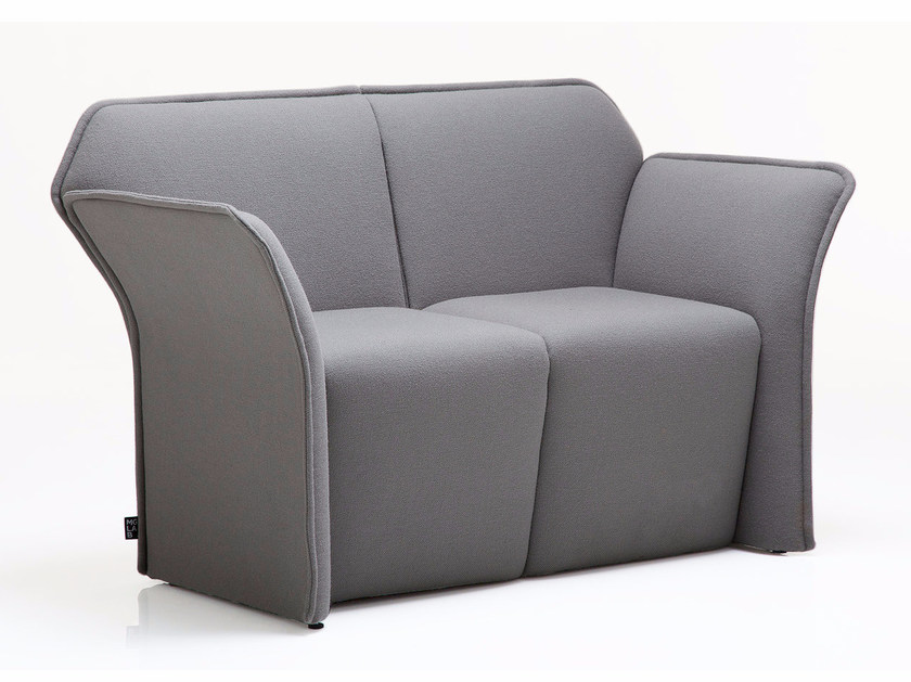 2 seater sofa PANOPLY | 2 seater sofa by Emmegi