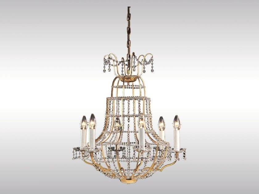 Classic style chandelier PAPAGENO - Woka Lamps Vienna