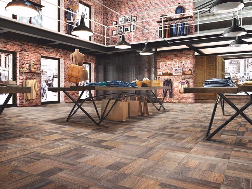 Porcelain stoneware flooring with wood effect PARCHI - Casalgrande Padana