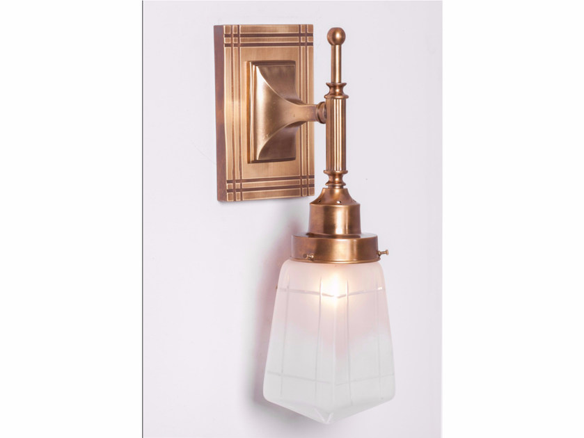Brass wall lamp PARIS I | Wall lamp - Patinas Lighting