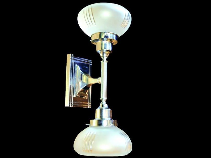 Nickel wall lamp PARIS II | Wall lamp - Patinas Lighting