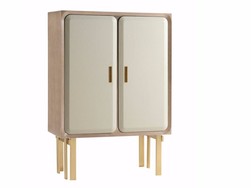 Highboard with doors PARIS PANAME | Highboard by ROCHE BOBOIS