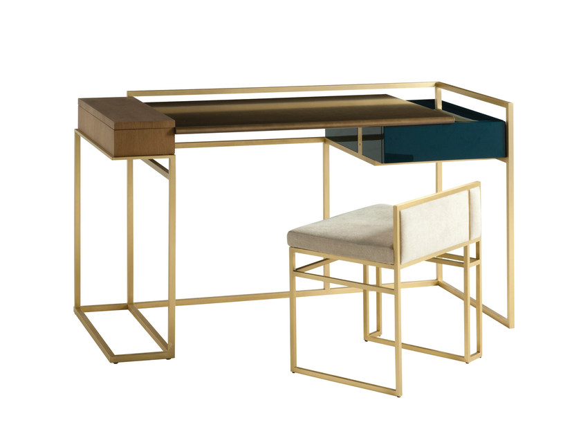 Rectangular writing desk with drawers PARIS PANAME | Writing desk by ROCHE BOBOIS