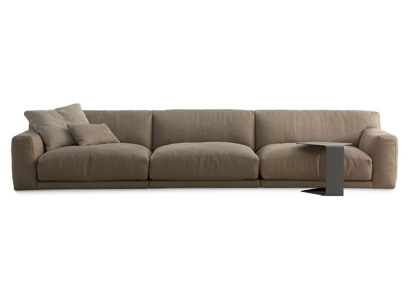 Sectional fabric sofa PARIS-SEOUL | Fabric sofa - Poliform