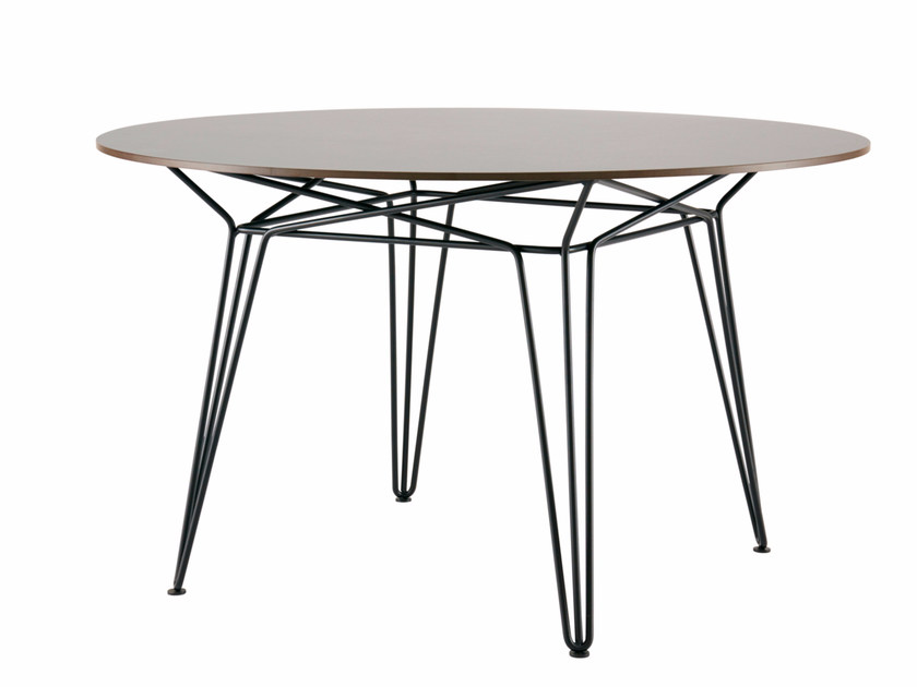 Round HPL garden table PARISI | HPL table - SP01