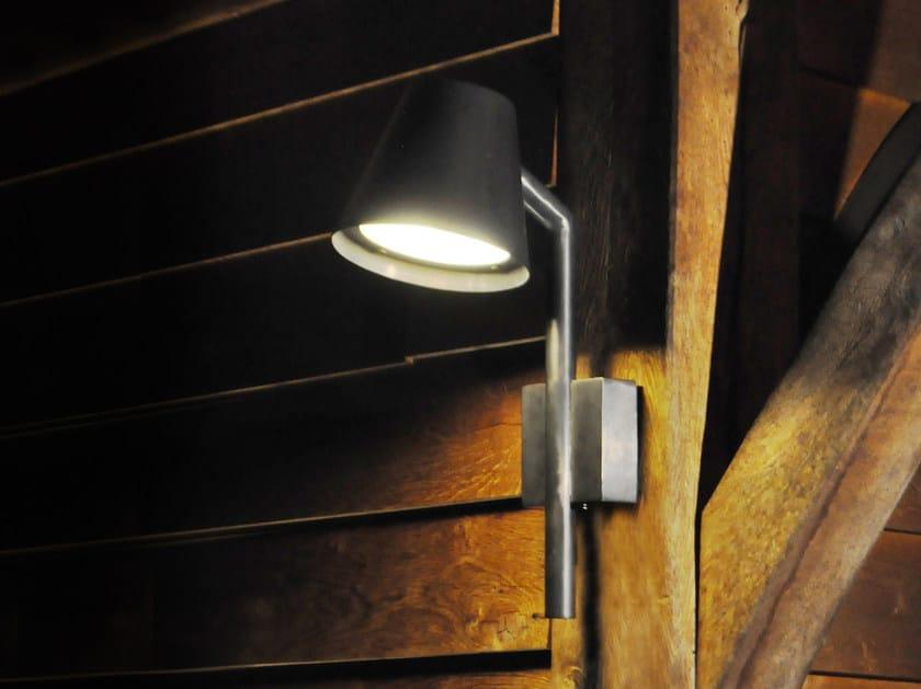 Direct light brass wall lamp PARKER by ROYAL BOTANIA