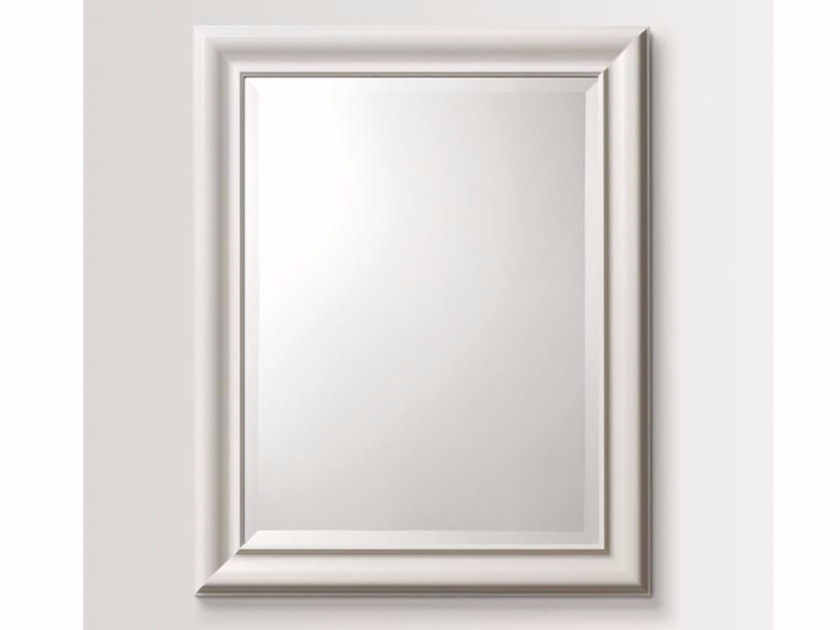 Rectangular wall-mounted framed mirror PARSLEY - BATH&BATH